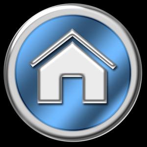 símbolo de homepage
