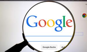 lupa no Google